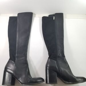 8e091b62dde Marc Fisher size 8.5 tall leather boots